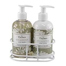 Eucalyptus Sink Set with Caddy
